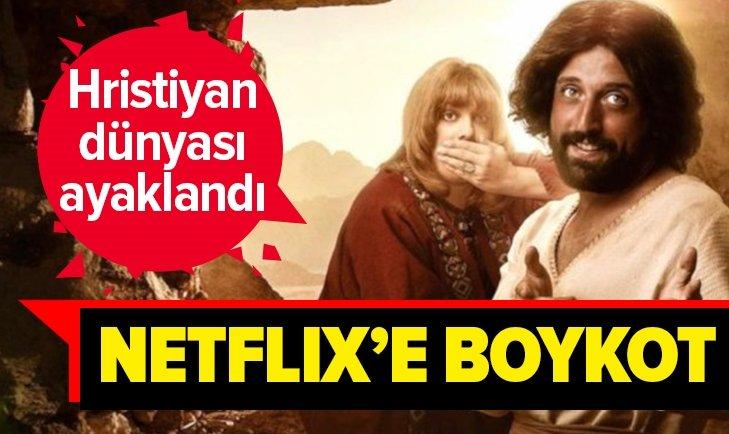 NETFLİX'E BOYKOT BAŞLADI! HRİSTİYANLAR AYAKLANDI
