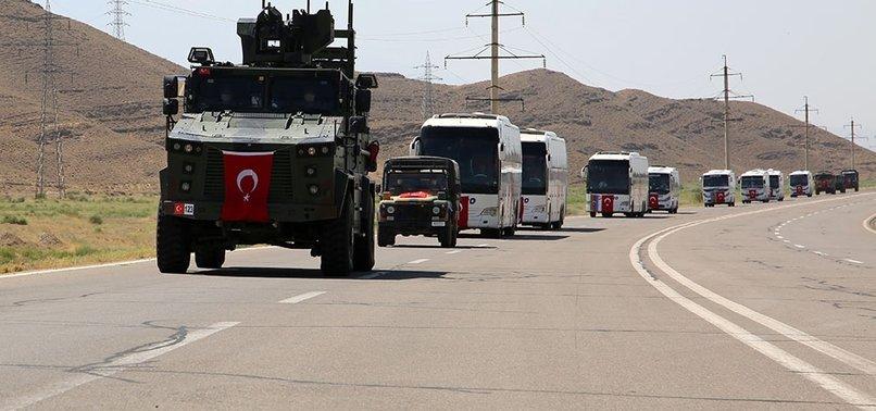 Türk askeri tatbikat için Azerbaycan'da