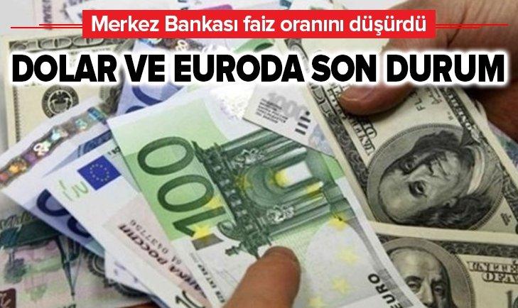 MERKEZ BANKASI AÇIKLADI DOLAR VE EURO GERİLEDİ