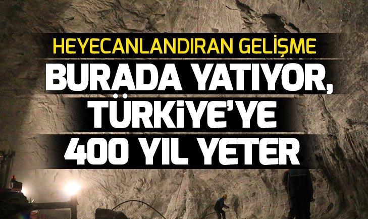 Türkiye'ye 400 yıl yetebilecek kaya tuzu rezervi var! İşte Çankırı'da kaya tuzu çıkartılan o mağara...