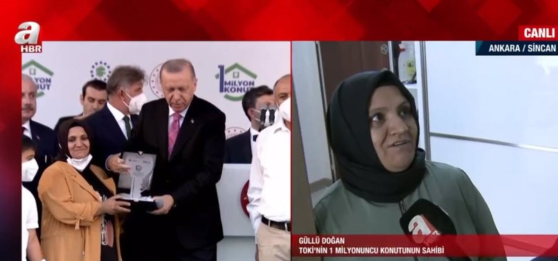 Başkan Recep Tayyip Erdoğan teslim etmişti! İşte TOKİ'nin 1 milyonuncu konutu