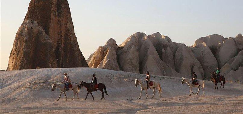 Kapadokya turizmi uçurdu