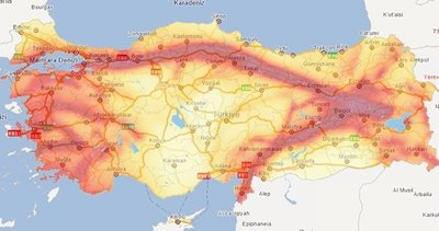 Bina Deprem Yönetmeliği Deprem Tehlike Haritası ile güncellenecek