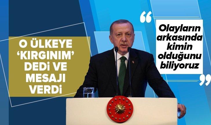 Başkan Erdoğan'dan Irak'taki olaylar ve İran konusunda flaş açıklamalar