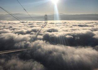 Tamamlandığında dünyanın en büyüğü olacak! 'Simgelerin Köprüsü'nde çalışmalar devam ediyor