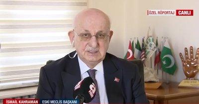 Eski TBMM Başkanı İsmail Kahraman'dan A Haber'de yeni anayasa açıklaması: İlk 4 maddeye dokunmak mümkün değildir