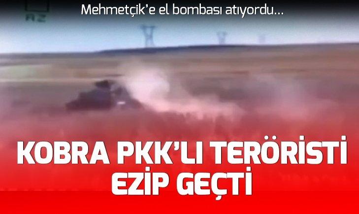 AĞRI'DA EL BOMBASI ATAN PKK'LI TERÖRİST ÖLDÜRÜLDÜ