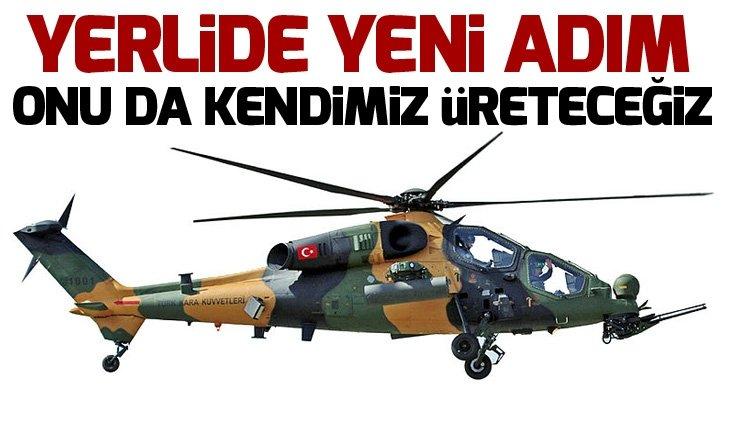 ATAK helikopterlerine yerli top geliyor