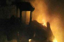 PKK'lı teröristler mermer ocağını bastı