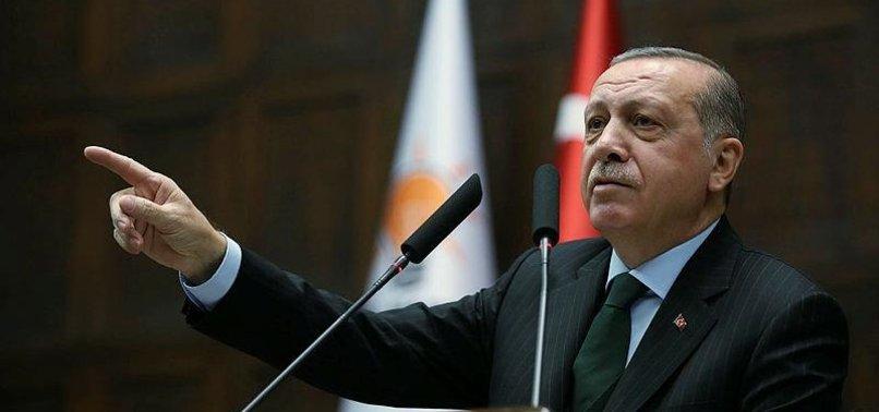 CUMHURBAŞKANI ERDOĞAN'DAN YUNANİSTAN'A FETÖ TEPKİSİ