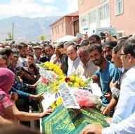 Tunceli'de PKK tarafından şehit edilen kardeşler son yolculuğuna uğurlandı
