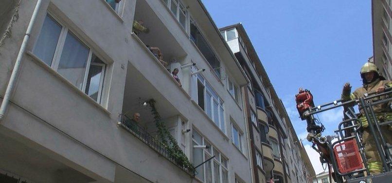 İSTANBUL'DA KORKUTAN YANGIN!