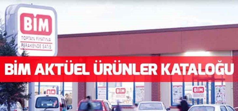 BİM AKTÜEL ÜRÜNLERİ RAFLARDA!