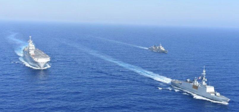 Doğu Akdeniz'e Türkiye damgası! Fransız gemisi arkasına bile bakmadan kaçtı