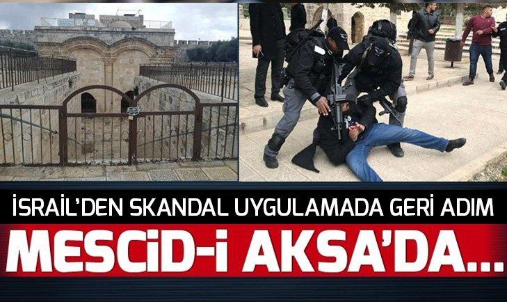 İSRAİL'DEN SKANDAL UYGULAMADA GERİ ADIM