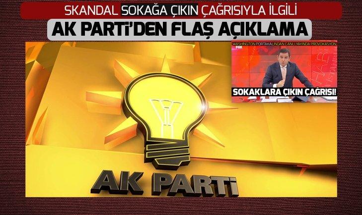 MKYK toplantısının ardından AK Parti'den açıklama