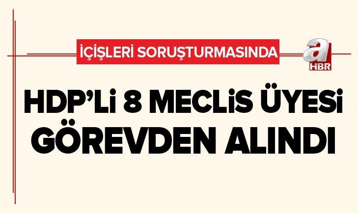 VAN'DA HDP'Lİ 8 MECLİS ÜYESİ GÖREVDEN ALINDI