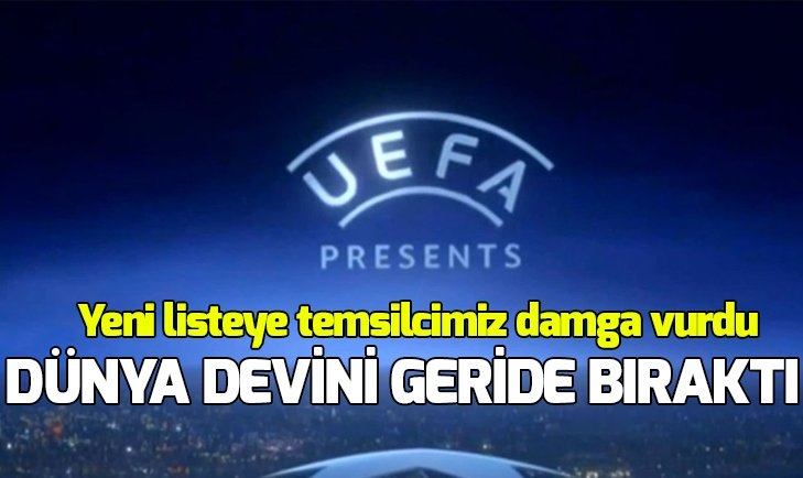 UEFA, KULÜPLER SIRALAMASINI AÇIKLADI! İŞTE GALATASARAY, FENERBAHÇE VE BEŞİKTAŞ'IN SIRASI