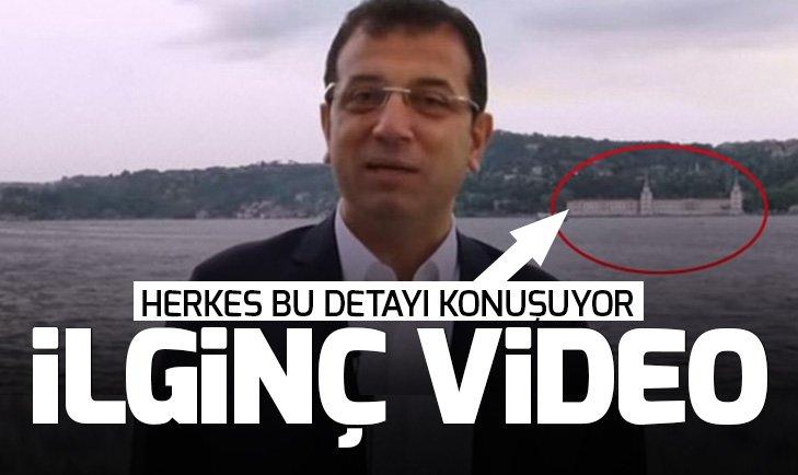 Ekrem İmamoğlu'nun paylaştığı videoda dikkat çeken detay