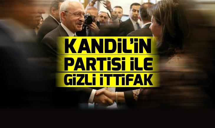 CHP ve HDP arasında gizli kapaklı ittifak
