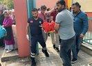 Sultanbeyli'de okulda pencereden sarkan kız kendini boşluğa bıraktı | Video