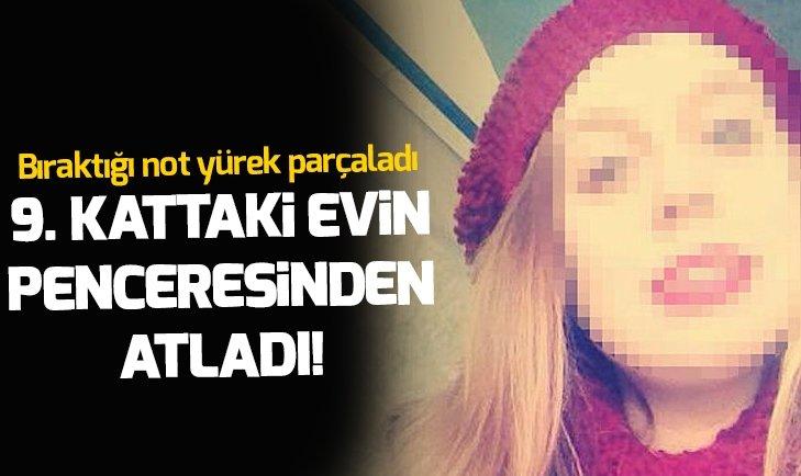 9. KATTAKİ EVİN PENCERESİNDEN ATLADI!