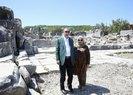 Başkan Erdoğan Muğla'da antik kenti ziyaret etti