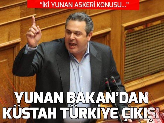 YUNAN BAKAN'DAN KÜSTAH ÇIKIŞ!