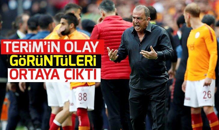FATİH TERİM'İN OLAY GÖRÜNTÜLERİ ORTAYA ÇIKTI!