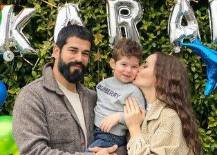 Kuruluş Osman'ın yıldızı Burak Özçivit ve Fahriye Evcen'in oğlu Karan 2 yaşına bastı! Kutlama paylaşımları olay oldu