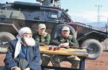 Sınırdaki Mehmetçiğin çayı Muhammet dededen