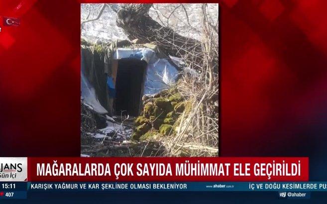 Kuzey Irak'ta PKK'ya bir darbe daha! Mehmetçik teröristlerin inlerine girdi