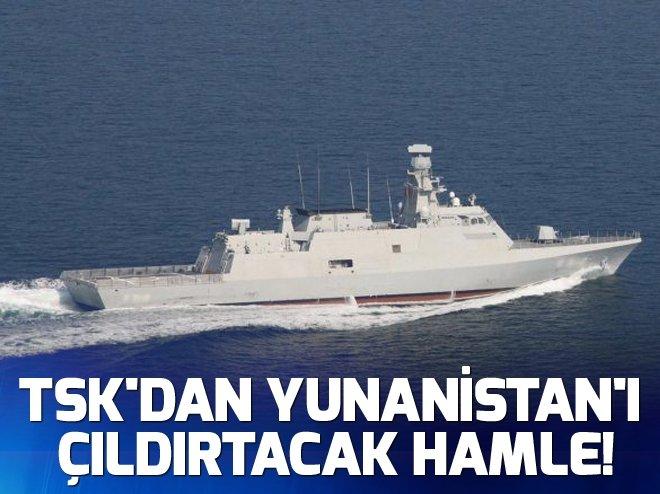 TSK'DAN YUNANİSTAN'I ÇILDIRTACAK HAMLE!