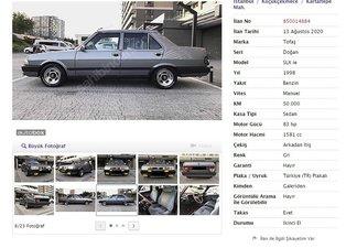 Görenler hayretler içinde kaldı! 20 yaşını geçmiş araçlara öyle bir fiyat istediler ki...