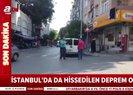 Son dakika: İstanbulda deprem sonrası ilk görüntüler | Valilik son depremle ilgili açıklama yaptı