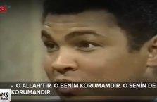 Efsane boksör Muhammed Ali