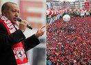 Son dakika! Başkan Erdoğan'ın milletle kucaklaşmasını hazmedemediler