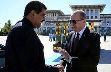 Cumhurbaşkanı Erdoğan'dan Maduro'ya tebrik