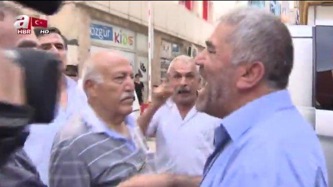 CHP'li üyeden A haber ekibine sözlü saldırı