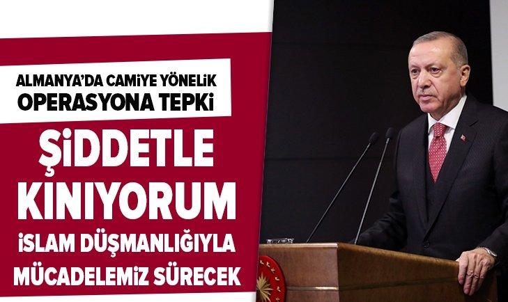 Başkan Erdoğan: Şiddetle kınıyorum