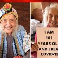 Angelina Friedman 102 yaşında koronavirüsü iki kez yendi! 1 asır önce de İspanyol gribini atlattığı ortaya çıktı