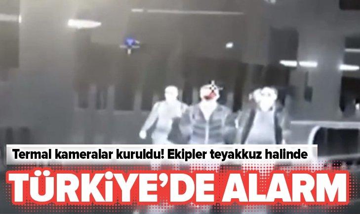 TERMAL KAMERALAR KURULDU! TÜRKİYE'DE ALARM...