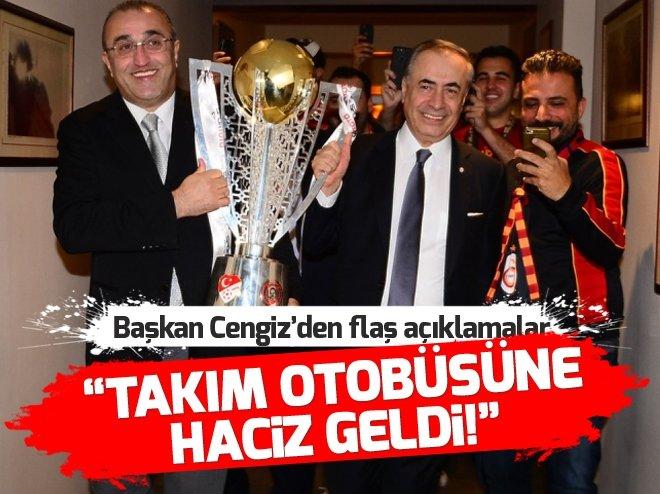 Mustafa Cengiz ve Albayrak'tan flaş açıklamalar