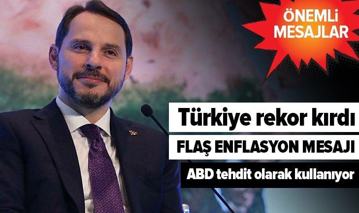 BAKAN ALBAYRAK'TAN ÖNEMLİ MESAJLAR!
