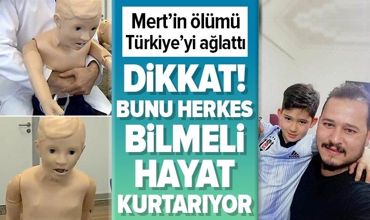 MERT'İN ÖLÜMÜ TÜRKİYE'Yİ AĞLATTI! İŞTE HAYAT KURTARACAK MÜDAHALE