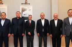 Sancar, Türk Konseyi'nin onur konuğu oldu