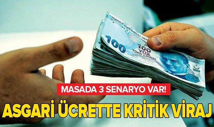 KRİTİK TOPLANTIYA SAATLER KALDI! ASGARİ ÜCRET ZAMMI İÇİN 3 SENARYO...