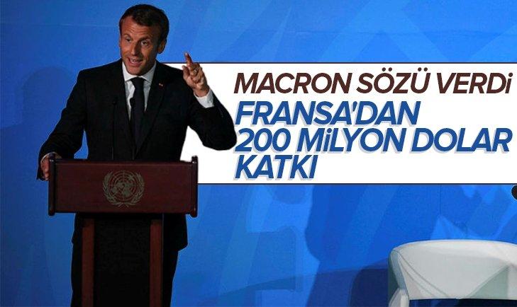 FRANSA'DAN 200 MİLYON DOLAR KATKI