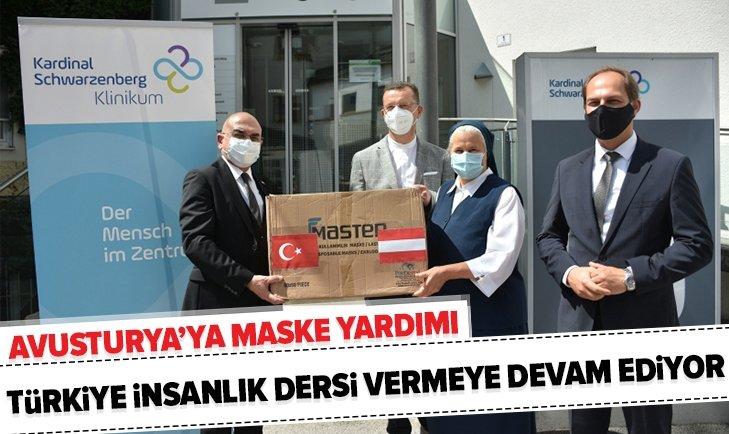 Türkiye'den Avusturya'ya 20.000 cerrahi maske!