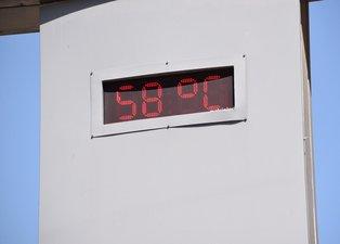 Şanlıurfa Siverek'te termometreler 58 dereceyi gördü!